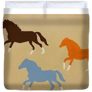 Triple Cantor - Duvet Cover