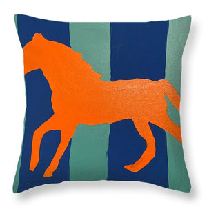 Trot - Throw Pillow