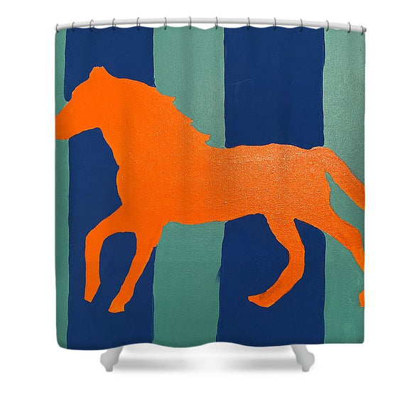 Trot - Shower Curtain