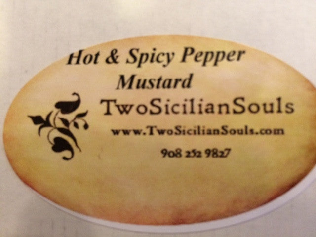 Hot & Spicy Pepper Mustard