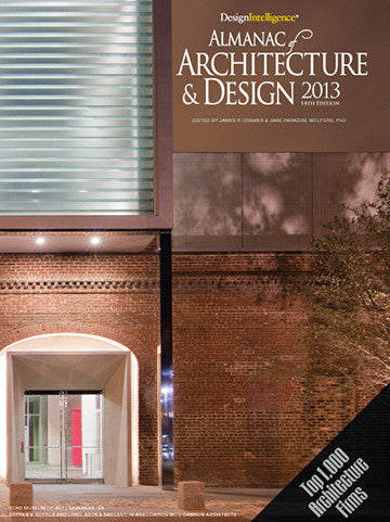 Almanac of Architecture & Design 2013 by the American Institute of Architects.