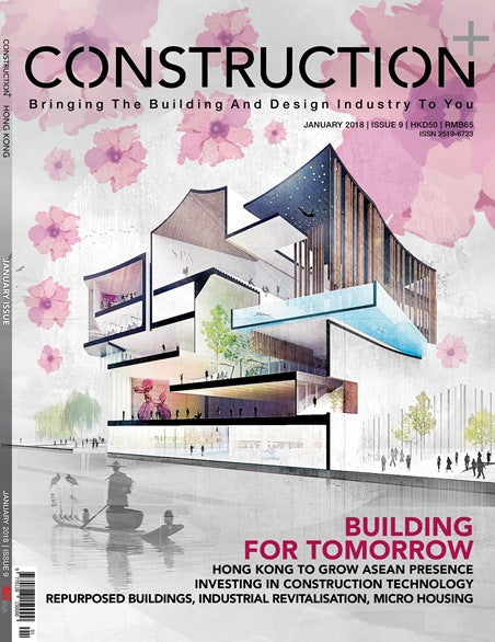Construction+ Single Edition Hong Kong 2018 January