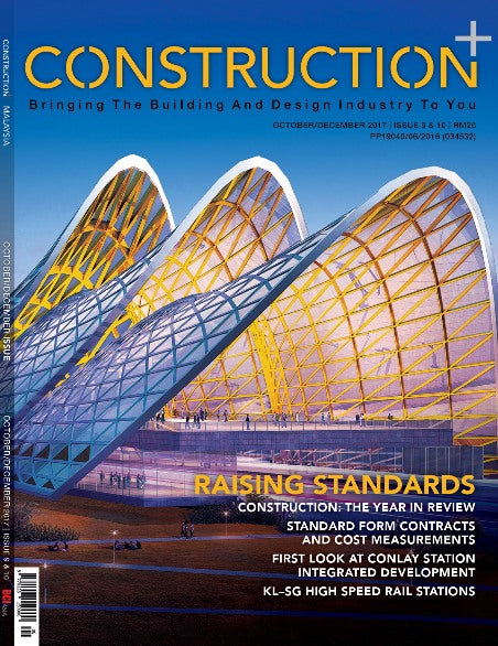 Construction+ Single Edition Malaysia 2017 October/December