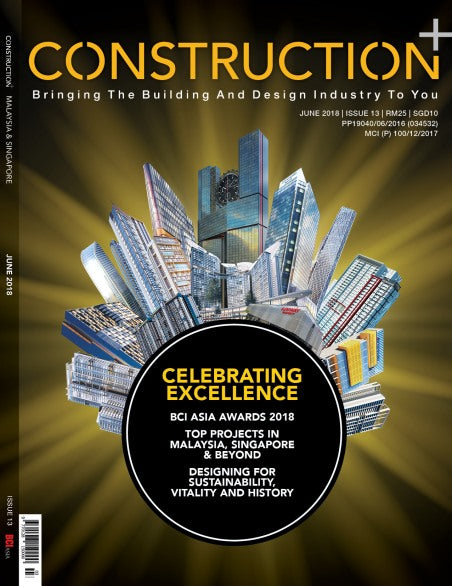 Construction+ Single Edition Malaysia & Singapore 2018 June