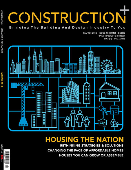 Construction+ Single Edition Malaysia & Singapore 2019 March