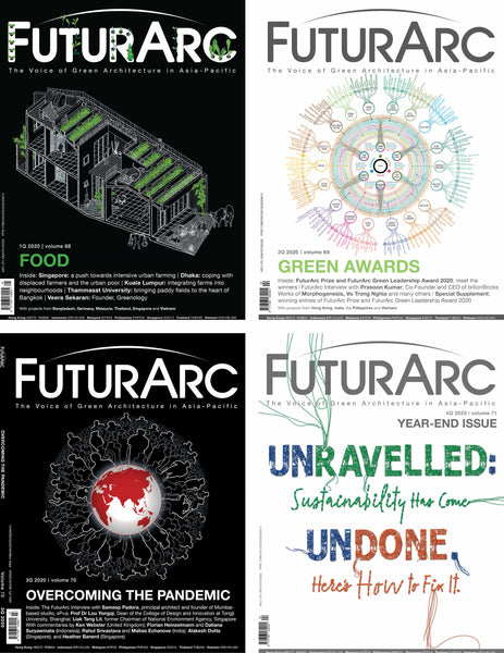 FuturArc Past Issues 2020: Digital Version in App