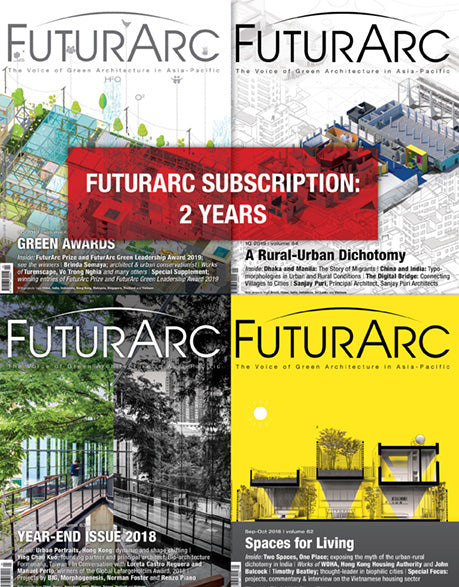 FuturArc Subscription 2 Years (8 issues)