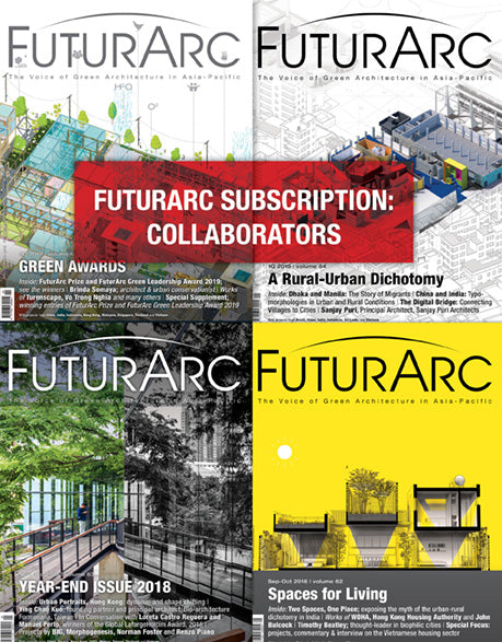 FuturArc Subscription - Futurarc Collaborators (4 issues)