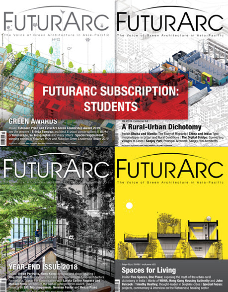 FuturArc Subscription - Students (4 issues)