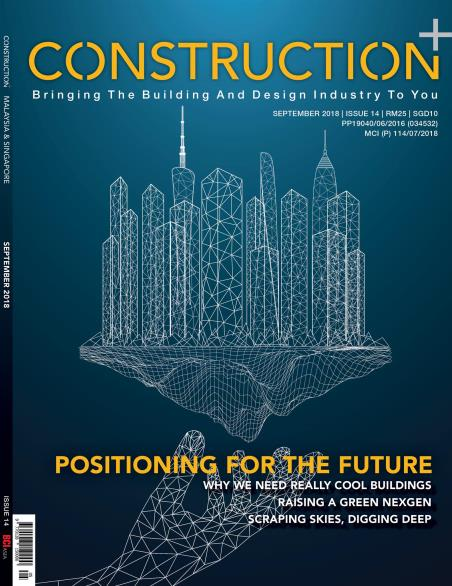 Construction+ Single Edition Malaysia & Singapore 2018 September