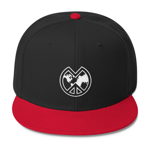 Chicago Red and Black MWP Logo Snapback