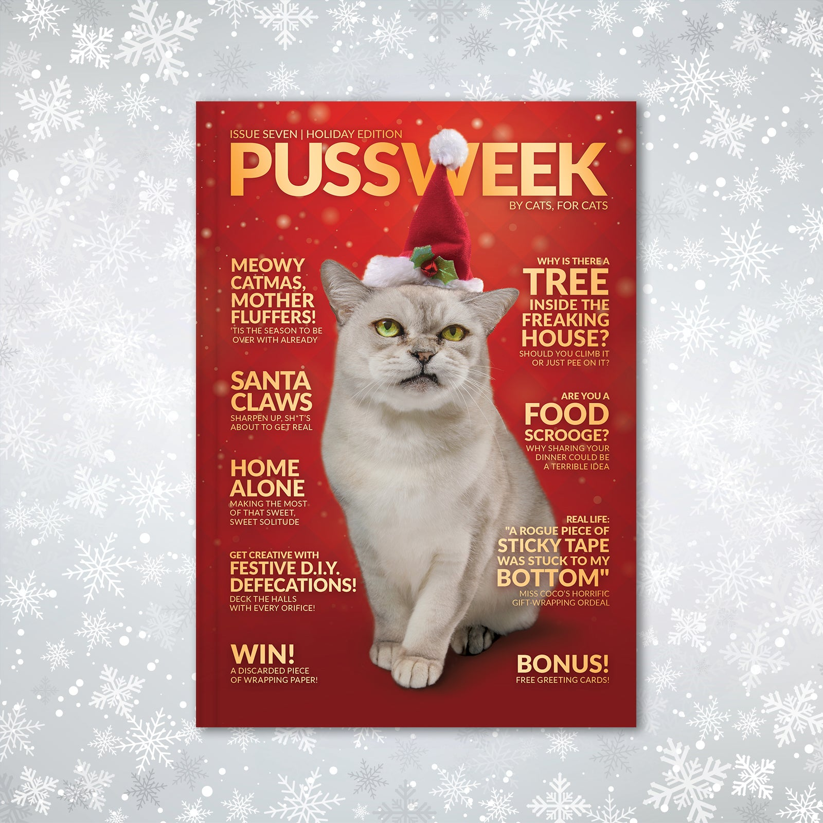 PUSSWEEK Holiday Edition Pre-Order