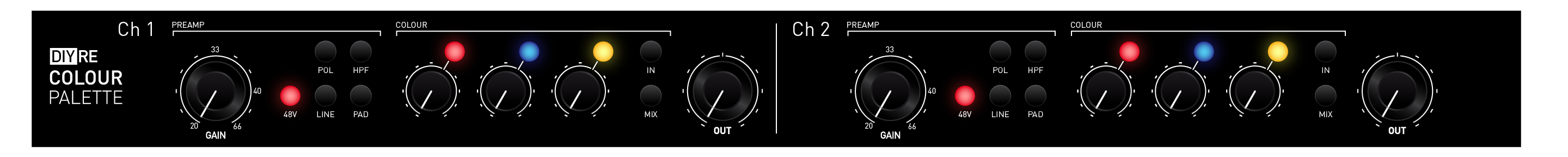 Diy Recording Equipment Blog The Central Wiring Panel Cwp Chapter 1 Rough Front Layout Click To Expand