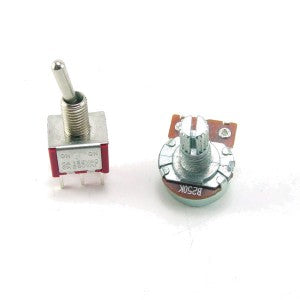 DPDT Switch Potentiometer