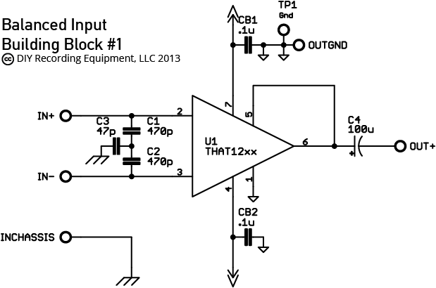balanced input output assembly guide diyre balanced input circuit balanced input schematic