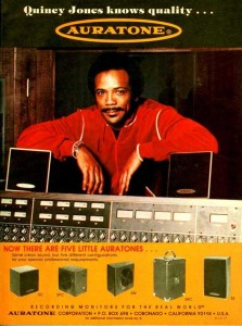 Quincy Jones with his 5Cs.