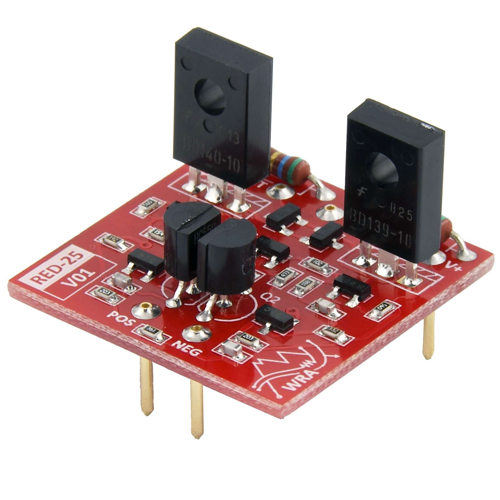 Diy Recording Equipment Store Dynamic Mic Preamplifier Circuit Red 25 Discrete Opamp Kit