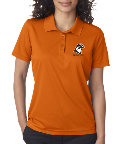 Orange Ladies Polo