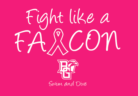 BG Swim 2016 Pink Shirts