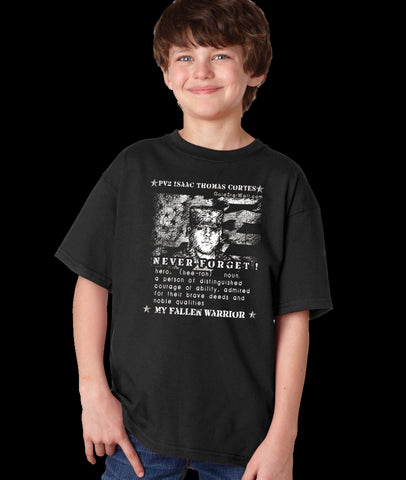 Isaac Cortes Youth T-Shirt
