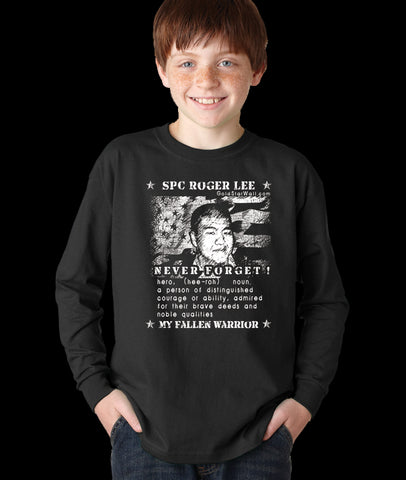 Roger Lee Youth Long Sleeve