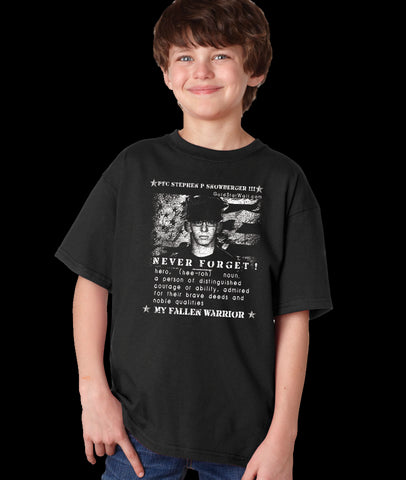 Stephen Snowberger III Youth T-Shirt