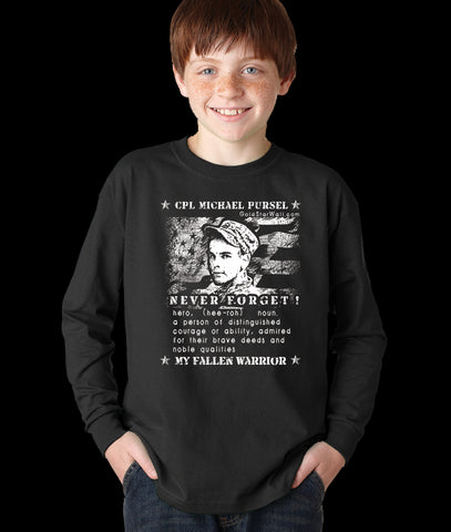 Michael Pursel Youth Long Sleeve