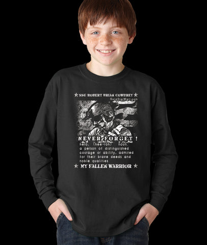 Robert Cowdrey Youth Long Sleeve
