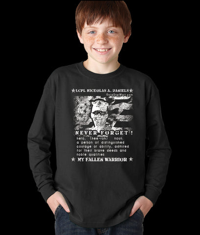 Nickolas Daniels Youth Long Sleeve