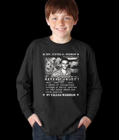 Justin Penrod Youth Long Sleeve