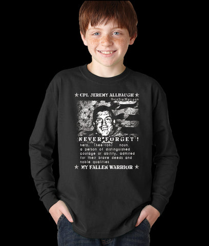 Jeremy Allbaugh Youth Long Sleeve