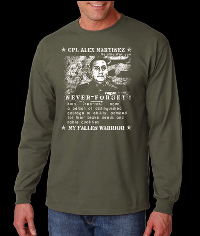 Alex Martinez Long Sleeve