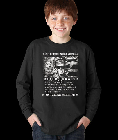 Curtis Oakes Youth Long Sleeve