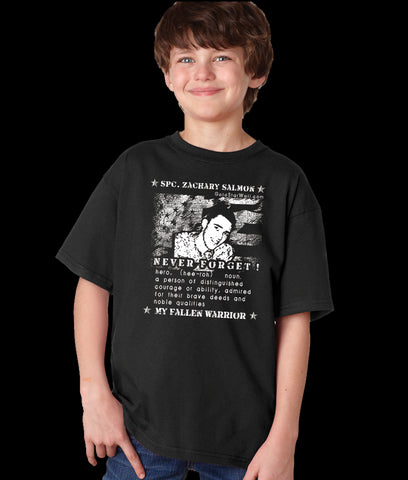 Zachary Salmon Youth T-Shirt