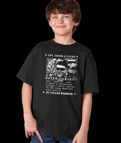Jason Lucas Youth T-Shirt