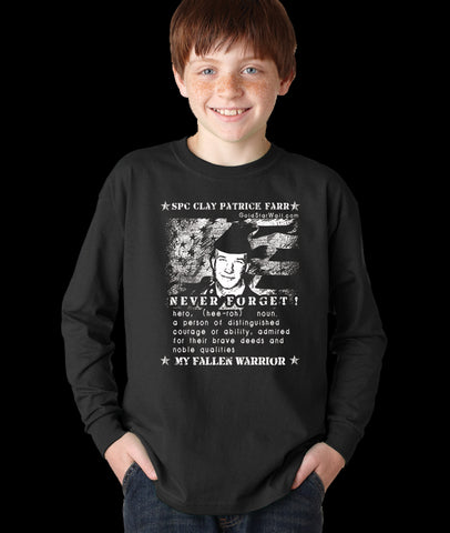 Clay Farr Youth Long Sleeve