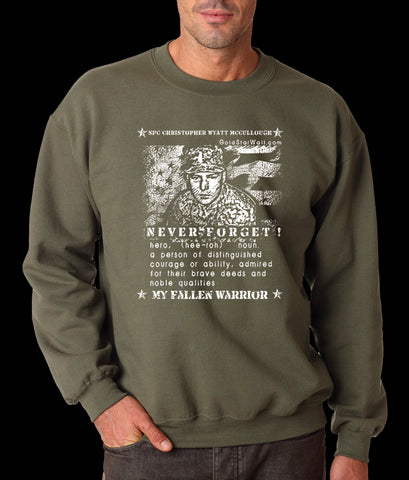 Christopher Mccullough Sweatshirt