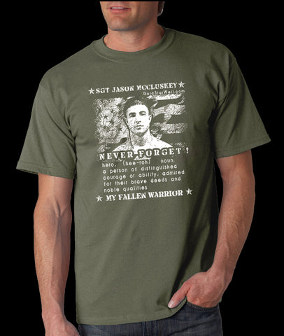 Jason Mccluskey T-Shirt
