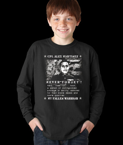 Alex Martinez Youth Long Sleeve