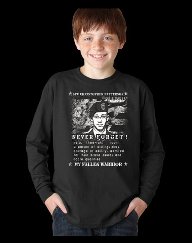 Christopher Patterson Youth Long Sleeve