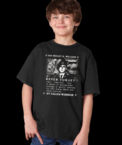 Wesley Williams Youth T-Shirt