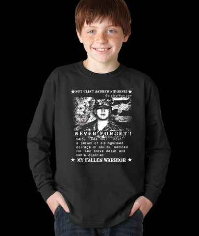 Clint Sikorski Youth Long Sleeve