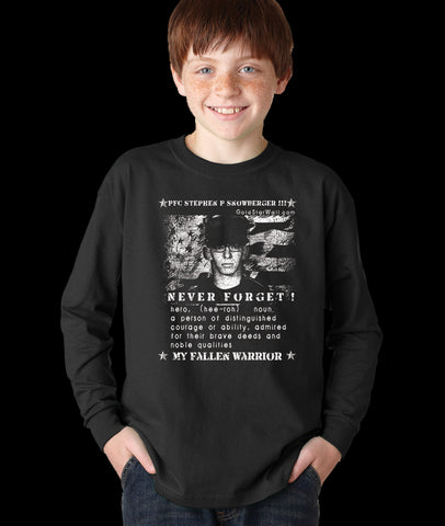 Stephen Snowberger III Youth Long Sleeve