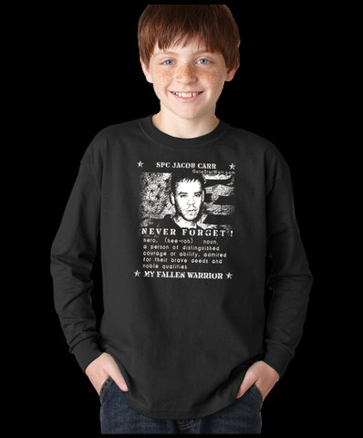 Jacob Carr Youth Long Sleeve