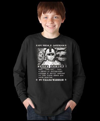 Brian Anderson Youth Long Sleeve