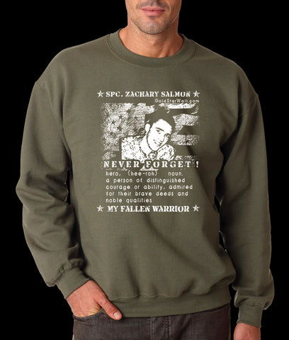 Zachary Salmon Sweatshirt