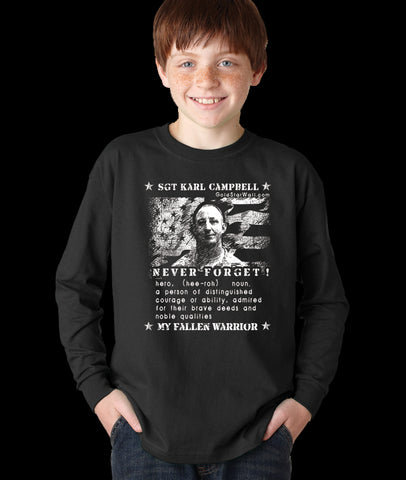 Karl Campbell Youth Long Sleeve