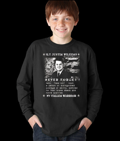 Justin Wilkens Youth Long Sleeve