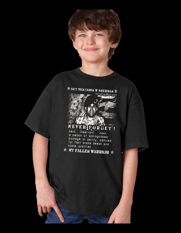 Benjamin Sherman Youth T-Shirt