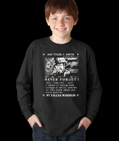 Tyler Smith Youth Long Sleeve